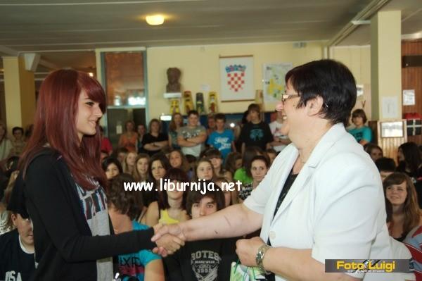 Liburnija.net: Svečanost za osmaše @ O.Š. Rikard Katalinić Jeretov, Opatija