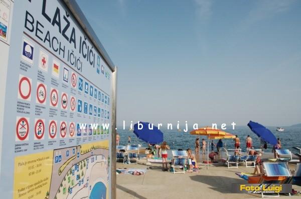 Liburnija.net: Plaža Ičići