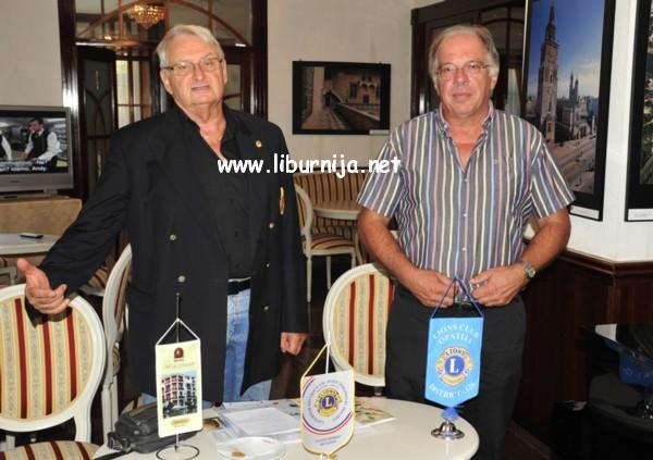 Liburnija.net: Borut Borja Kopani i Dražen Kurpis @ hotel Mozart