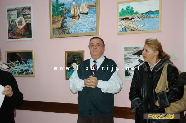 Liburnija.net: Otvorenje izložbe Emila Jeletića @ Opatija