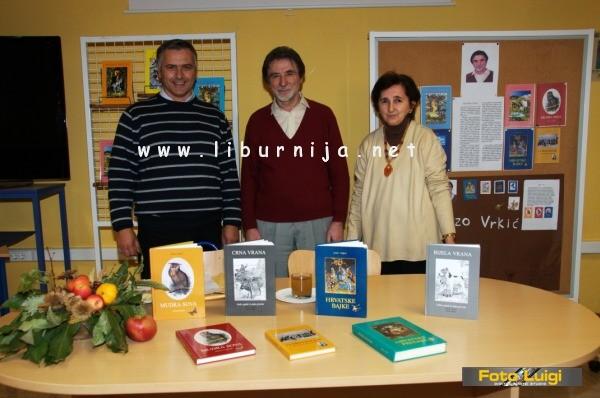 Liburnija.net: Književni susret s Jozom Vrkićem @ OŠ Rikard Katalinić Jeretov