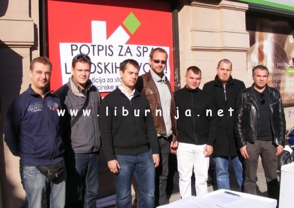 Liburnija.net: Sandi Kršanac, Darjan Buković, Bojan Simonič, Robert Kurelić, Igor Puž, Tomislav Lesinger i Mario Alempijević @ Opatija