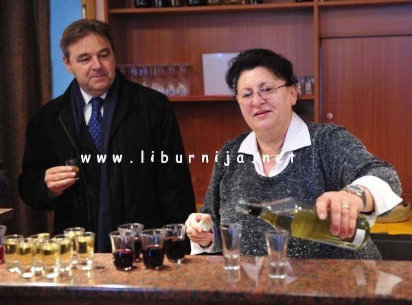 Liburnija.net: Josip Dedić predsjednik Liburnijskog udruženja obrtnika i Alma Cvjetković @ Rukavac