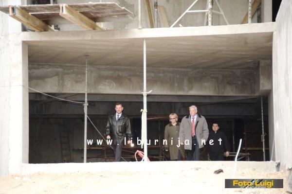 Liburnija.net: Potpisivanje ugovora i obilazak gradilišta @ Matulji