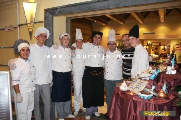 Liburnija.net: Čokoladna radionica pod vodstvom chefa Saše Bešlića @ Grand hotel Adriatic