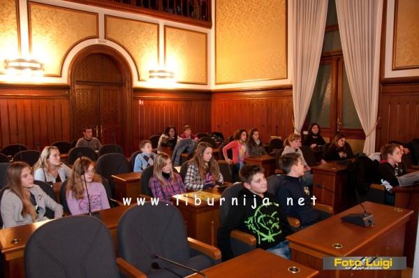 Liburnija.net: Mali vijećnici VIII. saziva Dječjeg gradskog vijeća Grada Opatije