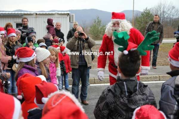 Liburnija.net: Druženje s Djedom Mrazom na granici @ Rupa