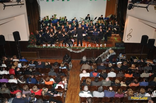 Liburnija.net: Novogodišnji koncert Puhačkog orkestra Lovran