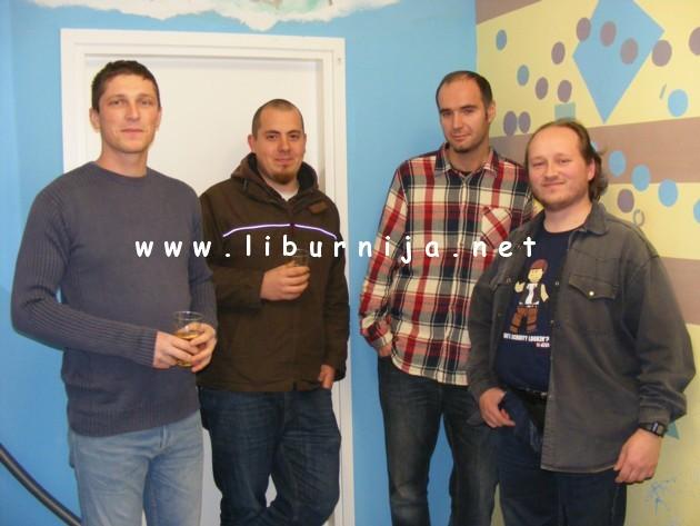 Liburnija.net: Marko Vrkljan, Tomislav Lesinger, Roko Kero i Marijan Pavletić - osnivači udruge Kulturni front