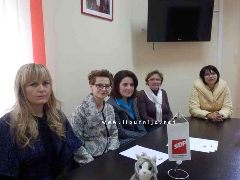 Članice Foruma žena SDP-a