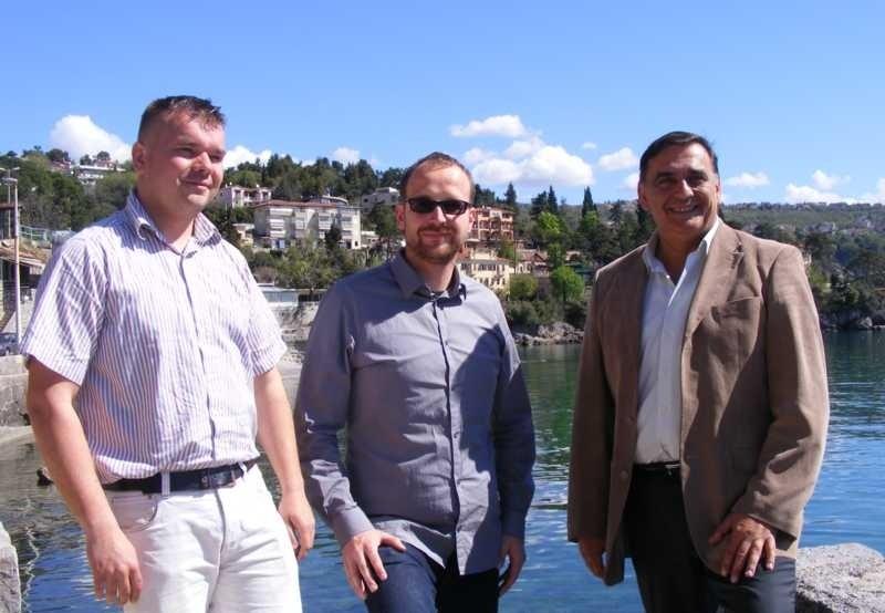 Liburnija.net: Igor Puž, Robert Kurelić i Nikica Pažin @ Volosko