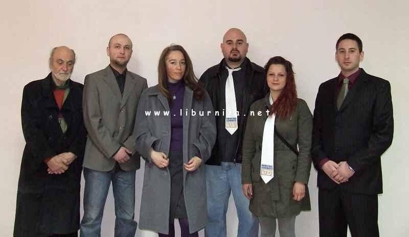 Marijan Vejvoda, Zlatko Zmajila, Linda Baretinčić, Sani Ivančić, Mia Plivelić i Marin Šustar