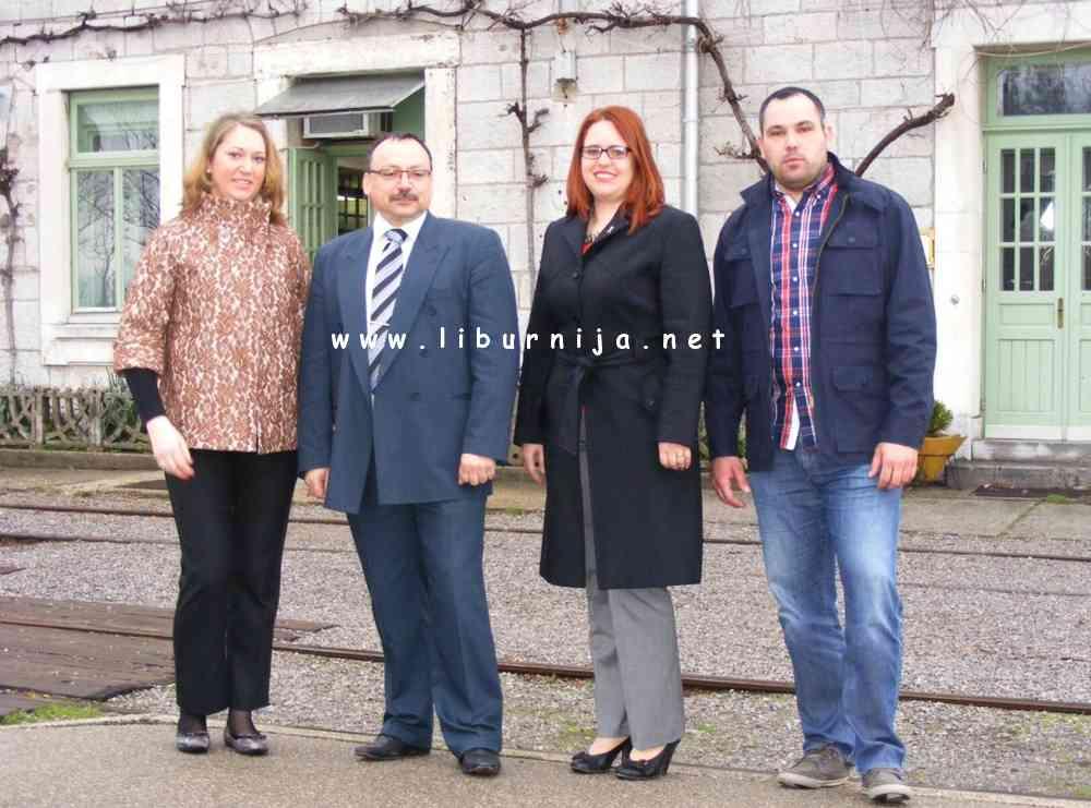 Arhiva Liburnija.net: Nikolina Ćiković, Željko Grbac, Marijana Kalčić Grlaš i Igor Barak @ Štacion Matulji