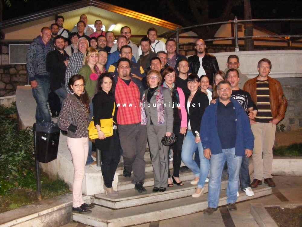 Liburnija.net: Alan Sanković i Branislav Petković sa svojim kolegama i prijateljima @ Lovran