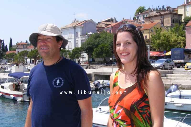 Liburnija.net: Damir Dujmić i Patricija Radetić @ Volosko
