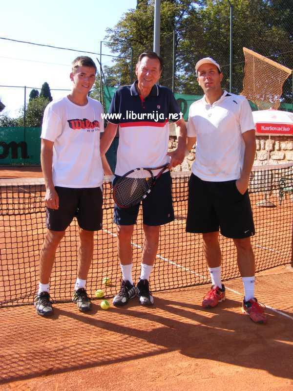 Marin Plišić, Nikola Pilić i Ivor Eržišnik @ Opatija