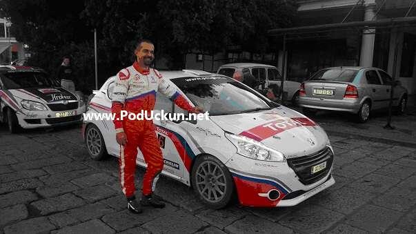 Suvozač pobjedničke posade Zdravko Draženović (AK Opatija Motorsport)