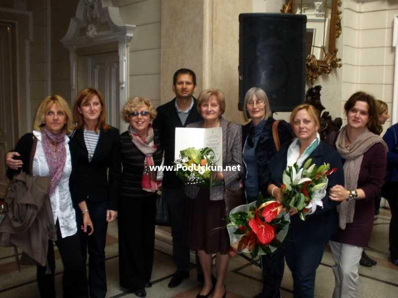 Karma Rubinić sa svojim kolegama