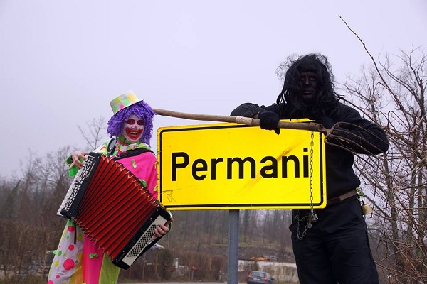 Maškarani centar Permani