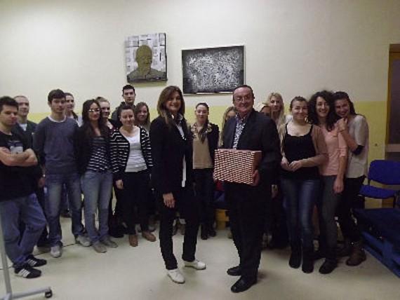 Primopredaja donacije u Učeničkom domu Lovran