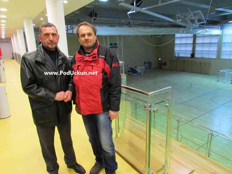 Mario Ćiković i Zoran Pugar @ Sportska dvorana Matulji
