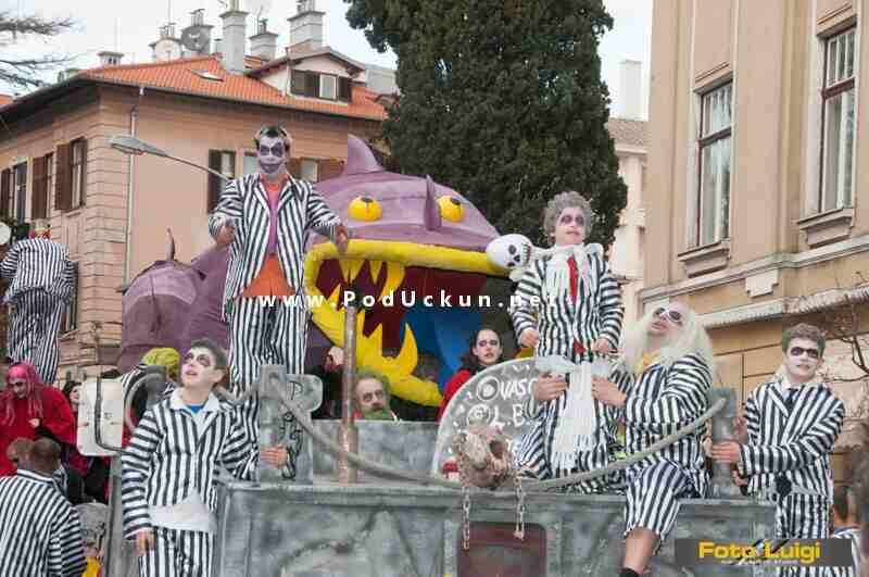 Arhiva: Karnevalska povorka u Lovranu