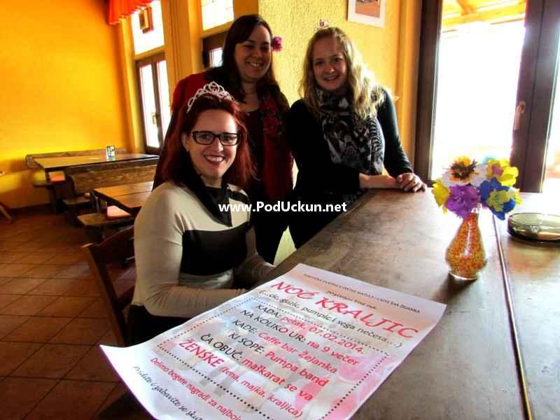 Marijana Kalčić Grlaš, Marina Sanković i Marina Andrijanić @ Žejanka