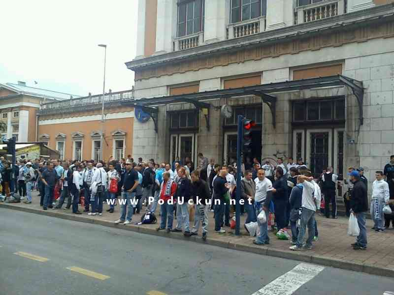 Okupljanje za Bijeli vlak @ Rijeka