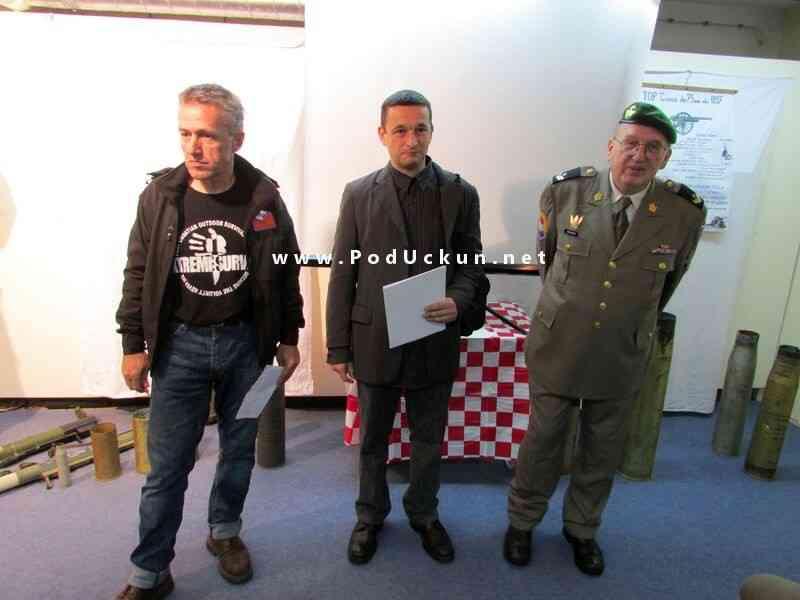 Damir Barić, Damir Batistić i Čestimir Komarek