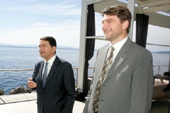 Generalni tajnik UNWTO-a Taleb Rifai i ministar turizma Darko Lorencin @ Opatija