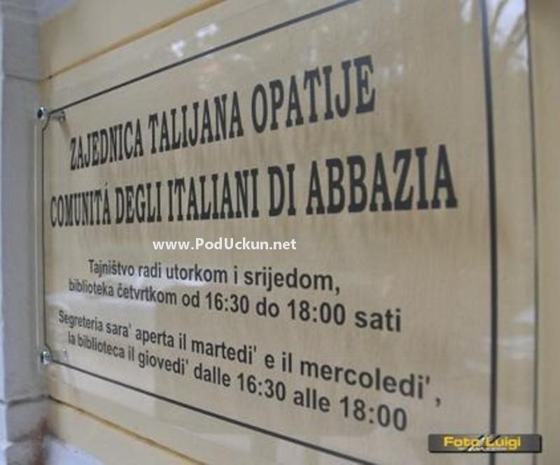 zajednica talijana opatija