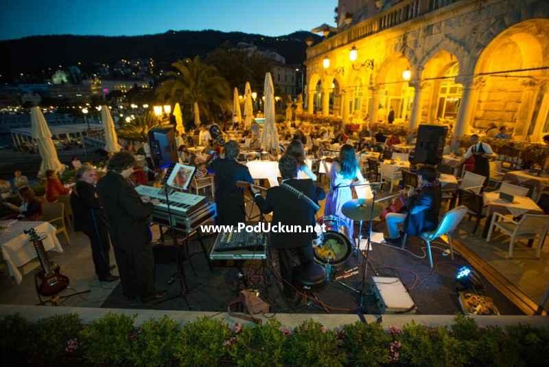 Kvartet Veljak na terasi hotela Milenij