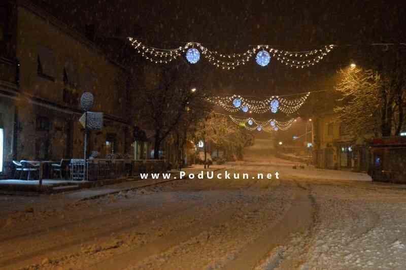 Centar Matulja pod snijegom