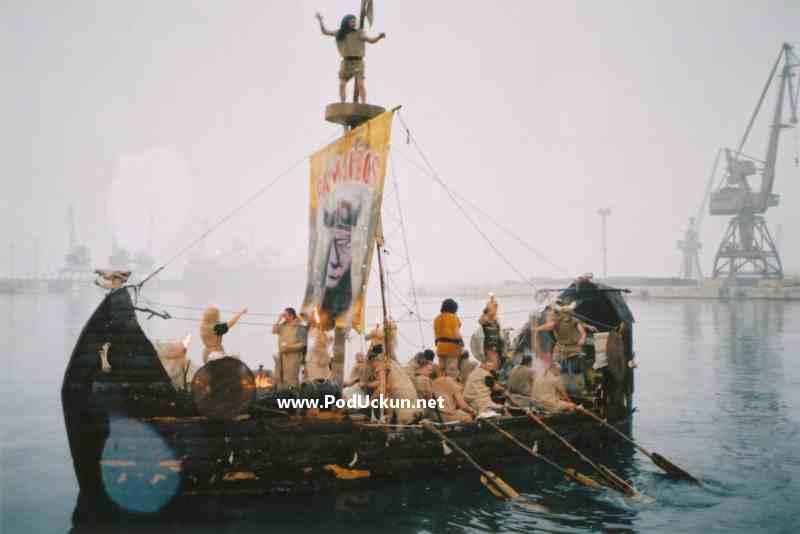Dolazak na karneval morskim putem @ Rijeka