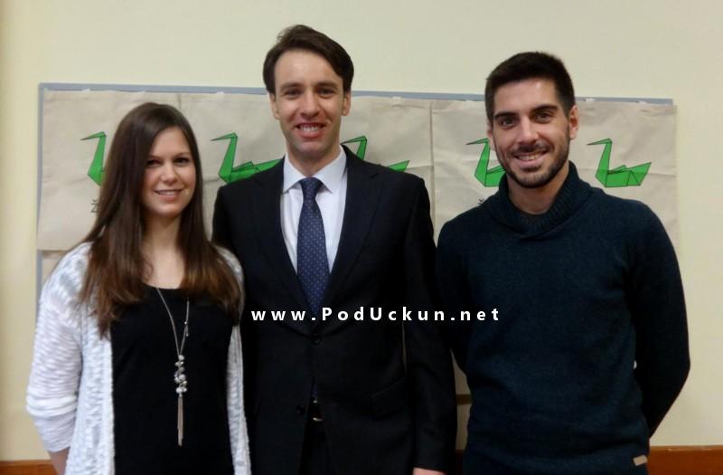 Zamjenik gradonačelnika Fernando Kirigin s volonterima