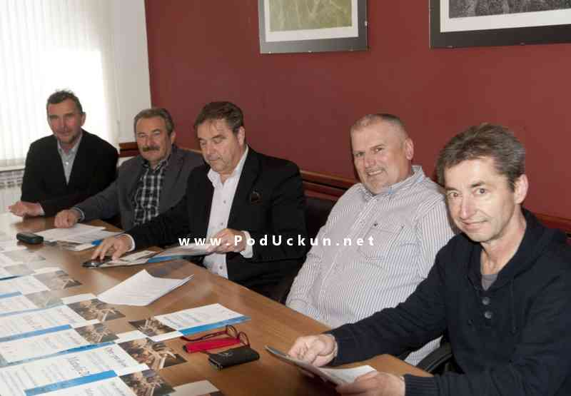 Mario Ćiković, Dušan Mušćo, Josip Dedić, Robert Stanić i Miloš Dekleva