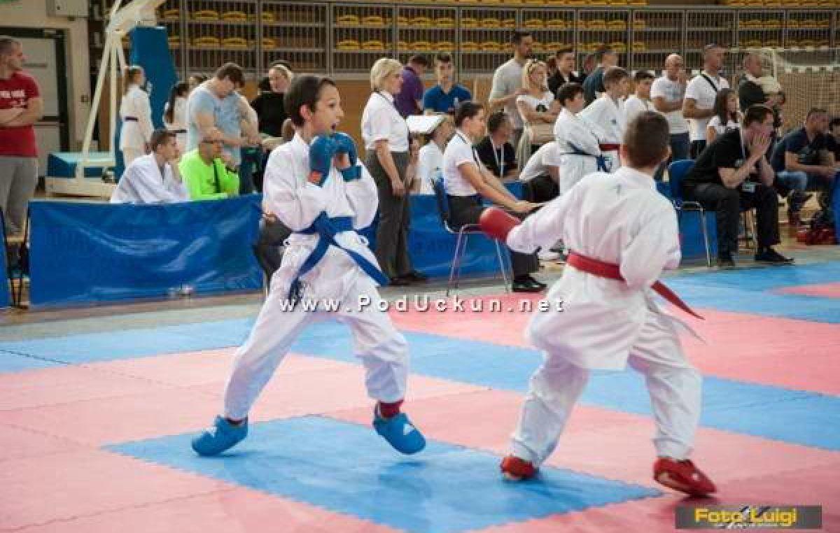 Članovi Karate kluba Opatija osvojili pet zlatnih odličja na 19. Karate Darfestu