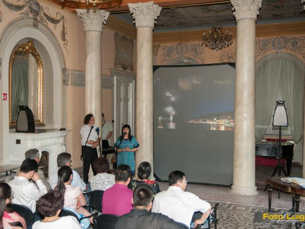 Foto Luigi Opatija, Grad Opatija, Posjet delegacije Lijin