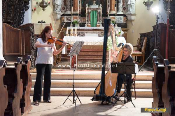 Foto Luigi Opatija, TZ Moš?eni?ka Draga, Koncert Harfa i Vioo