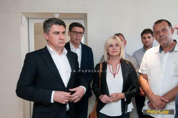 Foto Luigi Opatija, SDP Matulij, Posjet Milanovi? Lipa Matulji,