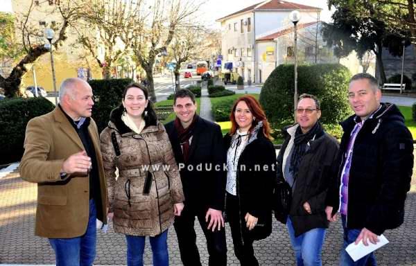 Dean Grbac, Diana Grbac Lazar, Vedran Kinkela, Marijana Kalčić, Fredi Šaina i Saša Matušić