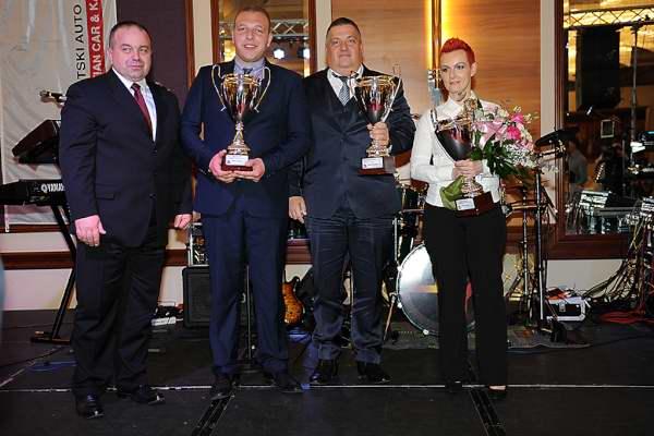 Dragan Serden s naj automobilistima-Stahor, Kavecz i Damarija (foto Pšeničnik&Rastowsky)