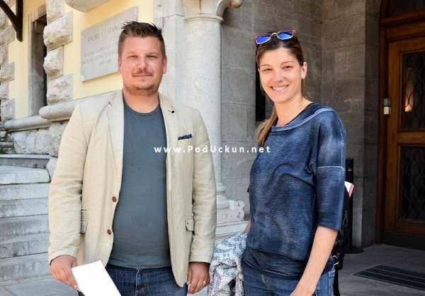 Danko Žitinić i Ana Puž Kukuljan