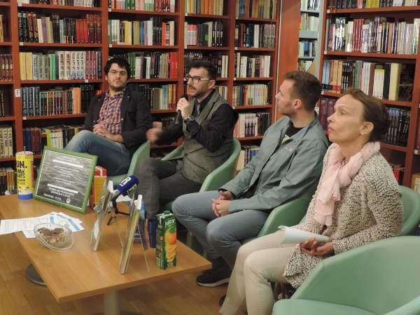 Kristian Benić, Niko Cvjetković, Ivan Šarar i Lea Lazzarich