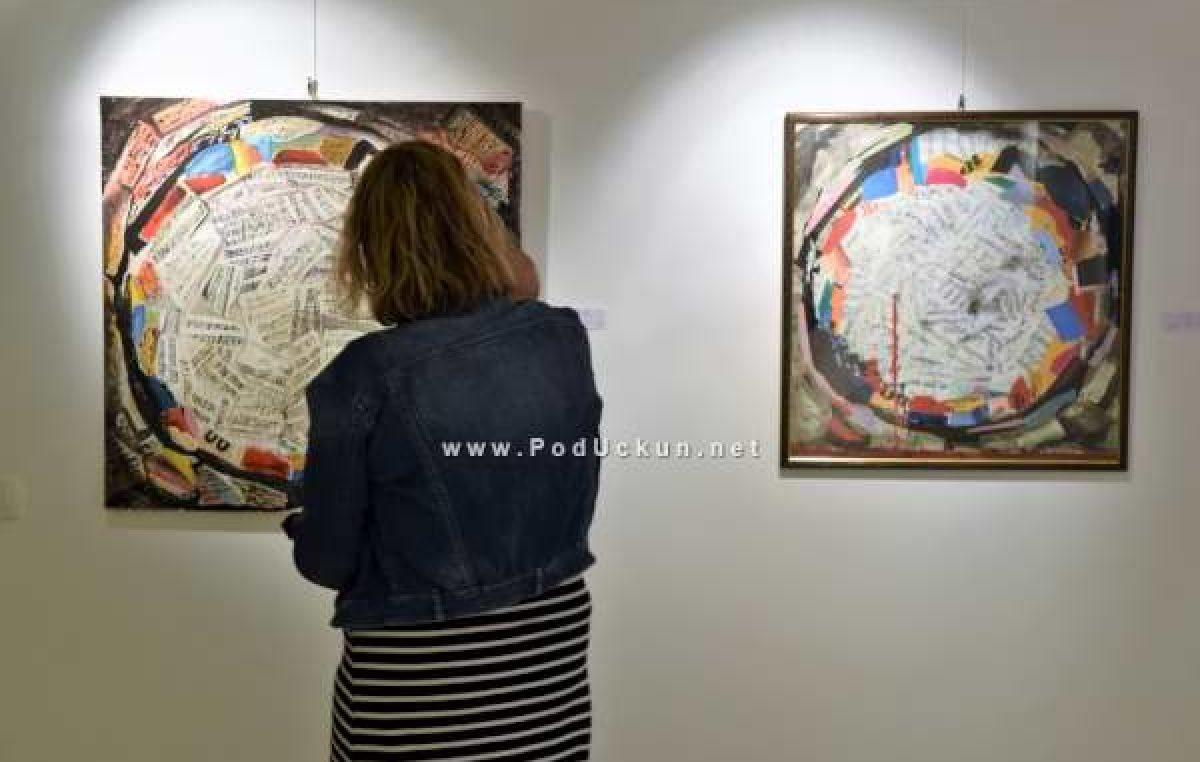Otvorenje izložbe 'Big blue' Marijana Rodina ove nedjelje u Galeriji Cisterna @ Mošćenička Draga