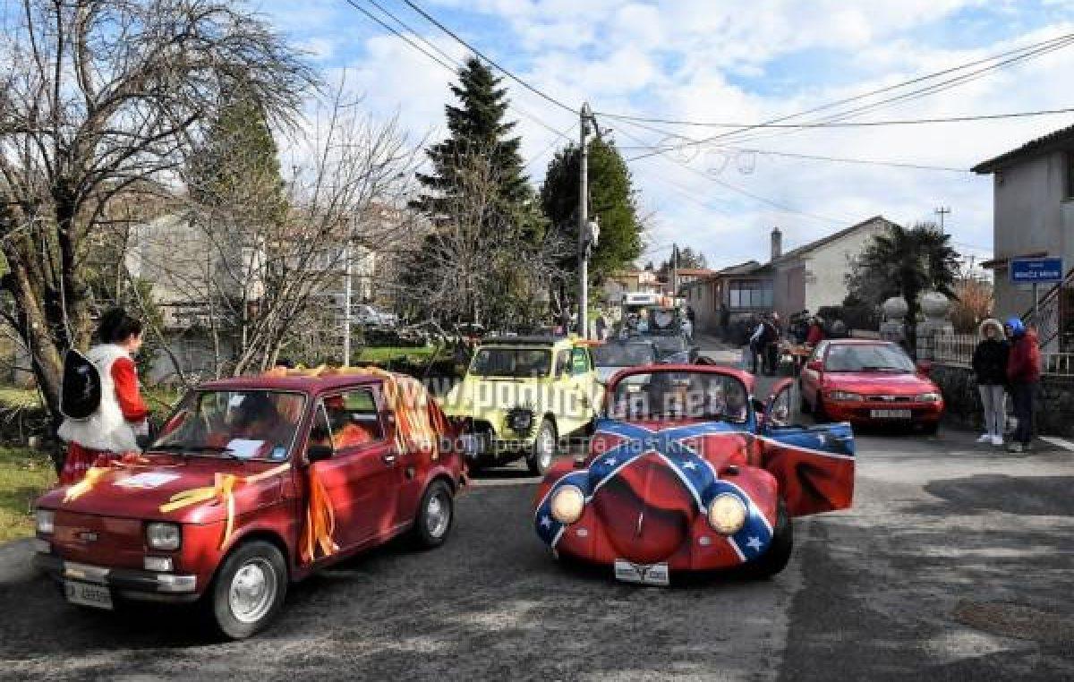 Karnevalsko ludilo  na kotačima – Sutra starta rally maškaranih  oktanaca  u Viškovu