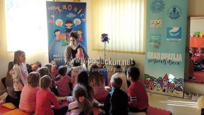 """Predavanje za roditelje na temu """"Kako pričati priče djeci"""" sutra u DND-u Opatija"""