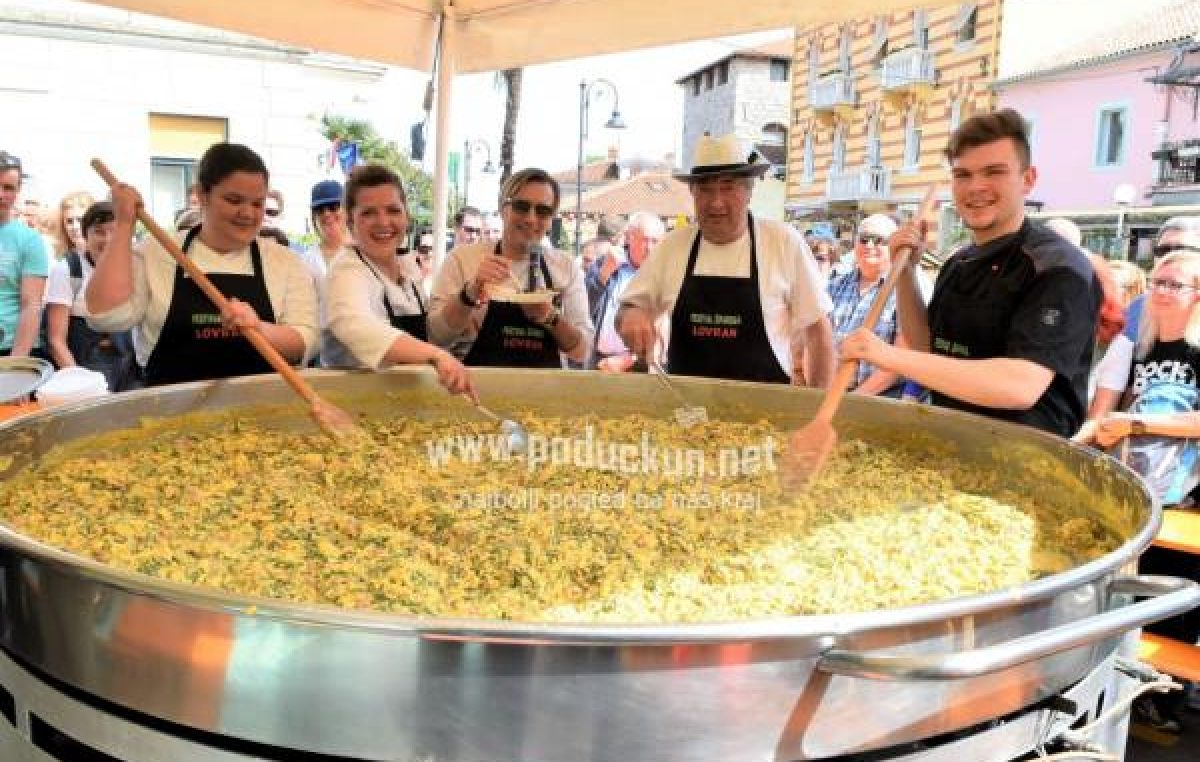 19. Festival Šparuga u lovranskim restoranima i konobama, vela fritaja ove subote