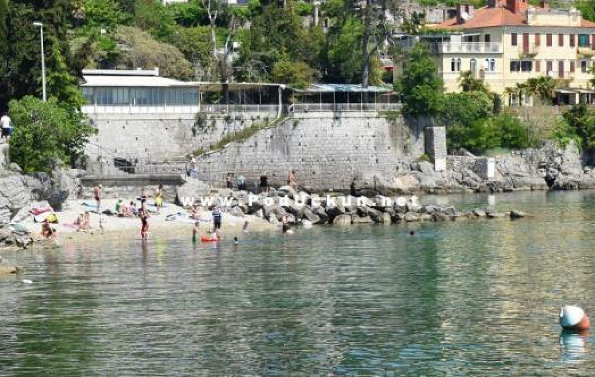 Počinju radovi na uređenju Trga Volosko, početkom listopada i na plaži Črnikovica