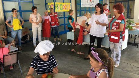 'Radionica kuhanja' za vrtićku djecu Liburnije danas u prostorijama GD crvenog križa Opatija